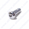 7/16-14 CHROME  BUTTON HEAD ALLEN BOLT